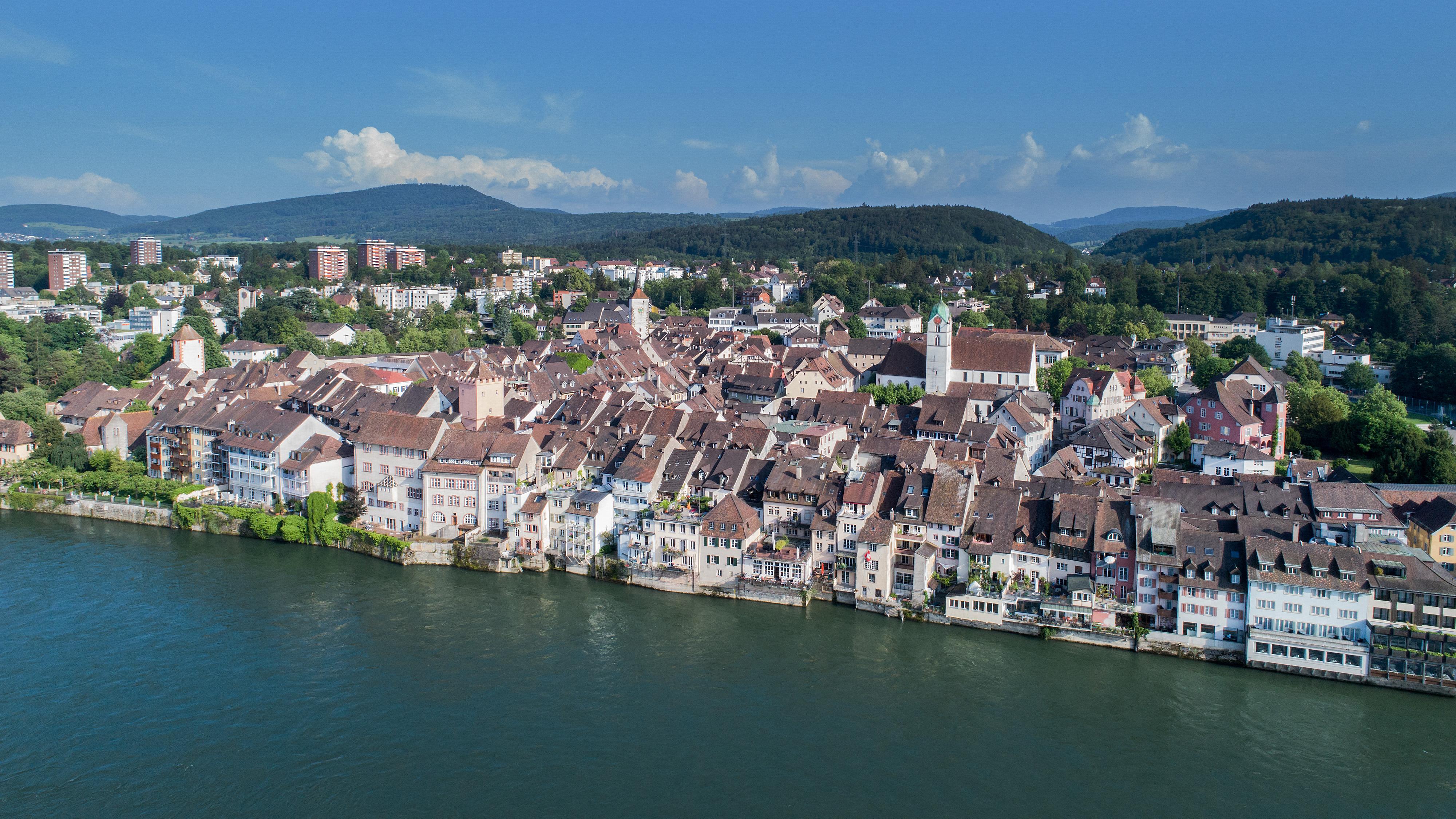 Rheinfelden und Rhein